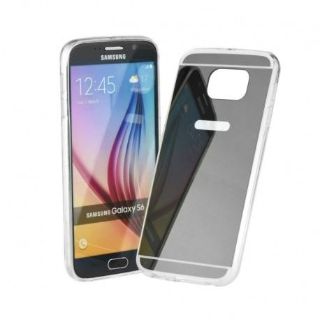 Husa SAMSUNG Galaxy A8 (2015) - Luxury Mirror TSS, Negru