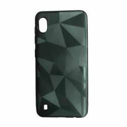 Husa SAMSUNG Galaxy A10 - Luxury Geometric Shiny TSS, Verde