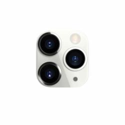 Fake camera iPhone 11 Pro pentru APPLE iPhone X / XS sau XS Max (Alb)