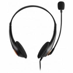 Casti cu Microfon tip Call-Center ACME HM01 (Negru) Blister