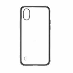 Husa SAMSUNG Galaxy A10 - Plating Soft Mat (Negru)