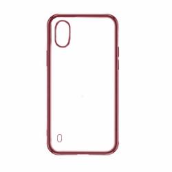 Husa SAMSUNG Galaxy A10 - Plating Soft Mat (Rosu)