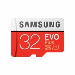 Card MicroSD Original SAMSUNG EVO Plus - 32GB + Adaptor Clasa 10 MB-MC32GA/EU