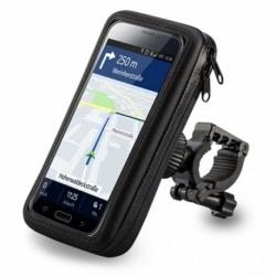 "Suport Telefon Bicicleta Universal Rezistent la Apa 5.5"" (Negru) BH?-?05HD21"