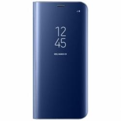 Husa SAMSUNG Galaxy A10 - Flip Wallet Clear (Bleumarin)