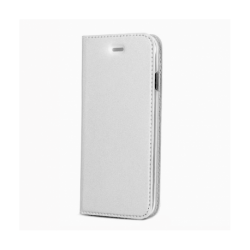 Husa SAMSUNG Galaxy A10 - Magnet Piele (Argintiu)
