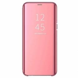 Husa SAMSUNG Galaxy A10 - Flip Wallet Clear (Roz)