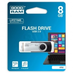 Stick Memorie USB 8GB (Negru) GoodRam