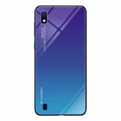 Husa SAMSUNG Galaxy A10 - Ombre Glass (Albastru)