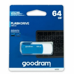 Stick Memorie USB 64GB (Bleumarin) GoodRam