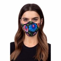 Masca De Protectie (Folclor-Negru )
