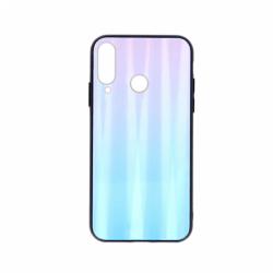Husa HUAWEI P40 Lite E - Ombre Glass (Albastru/Roz)