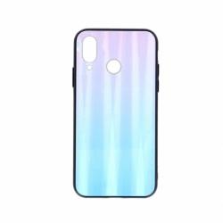 Husa SAMSUNG Galaxy A20e - Ombre Glass (Albastru/Roz)